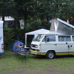 ... jetzt geht das luxuriöse Campen los!