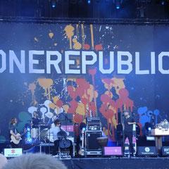 One Republic auf der Alterna-Stage