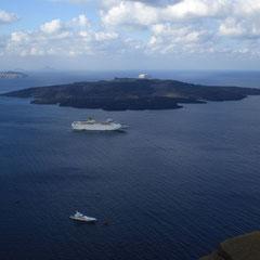 Tag 6: Endlich wieder ein schönes Ziel auf unserer Reise: Santorini