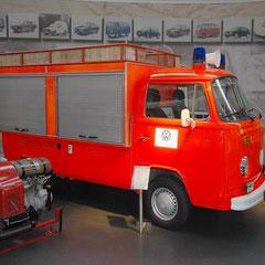 T2 als Feuerwehr-Rüstwagen der VW-Betriebsfeuerwehr aus dem Jahr 1979.