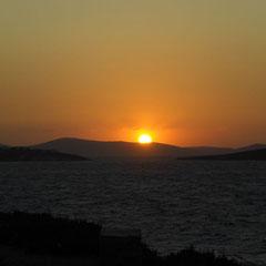 Wunderbarer Sonnenuntergang!