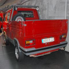 T3 Doka aus dem Jahr 1987. 4 Zylinder Boxer mit 2,1l Hubraum und 112PS.