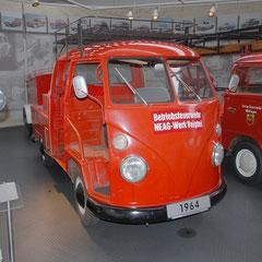 Ein T1 als Feuerwehrfahrzeug aus dem Jahr 1964.