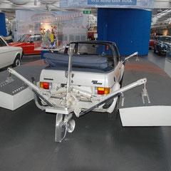 Mit dem Wagen sollten neue technische Erkenntnisse in Bezug auf das Verhalten eines für den normalen Betrieb konstruierten Motors bei Dauer-Höchstbelastung und gleichzeitiger minimaler Fahrtwind-Kühlung gewonnen werden.