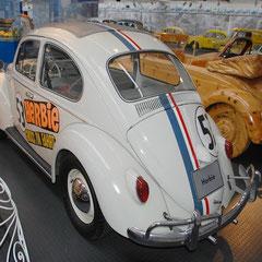 Einer von rund einem Duzend gefertigten Herbies, die jedoch bei den Dreharbeiten starke Blessuren erlitten!