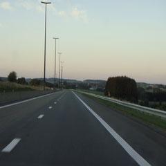 Nach einem perfekten Festival-Sonntag im schönen Luxemburg auf dem Heimweg...
