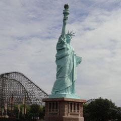 Miss Liberty auf dem Heide Park See...