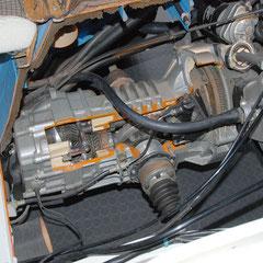 Er diente dazu, die Technik des seit 1981 eingeführten Dieselmotors zu veranschaulichen. Die komplette Struktur der T3-Karosserie wird plastisch dargestellt.