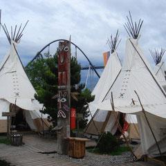 Erkundung der näheren Umgebung: Das Europa-Park Tippi-Dorf