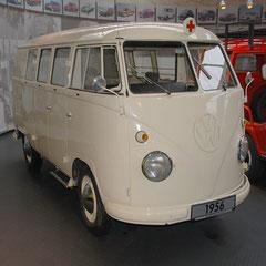 VW Krankenwagen-T1 aus dem Jahr 1956.