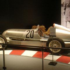 Ausstellung 75 Jahre Silberpfeile