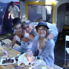 Johann, Marcel, Andrea und Mara