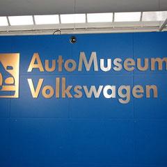 Angekommen im VW-Museum