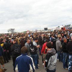 Tag 3: Freitag 5. Juni 2009: Rock am Ring 2009 öffnet in wenigen Minuten die Tore...!!!