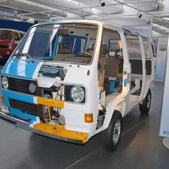 Unverkäufliches T3-Unikat als Schnittmodell aus dem Jahr 1980.