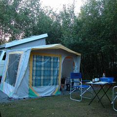 Das Lager für die nächsten 3 Tage wird wieder eingerichtet.