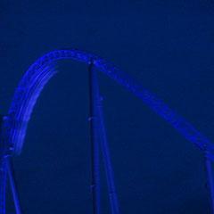 Blue Fire bei Nacht & die machen Testfahrten! Hoffentlich kein schlechtes Zeichen?!
