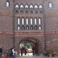 Eingang vom Hansa Park