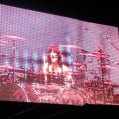 The Cat - Eric Singer in Aktion.