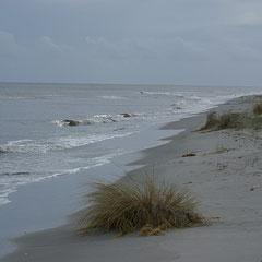 Unser Strand, Blick Richtung Süden