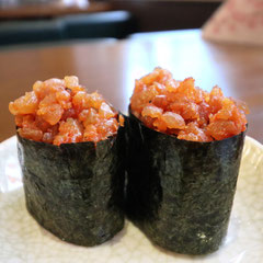 Tobiko Gunkan, Fischroggen