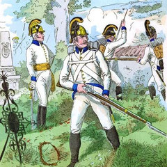 Infanterie-Regiment Nr. 4 im Jahre 1804