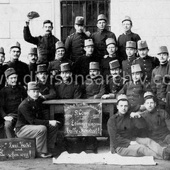 Infanterieregiment Nr. 4 im Jahr 1908