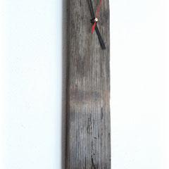 Holzwanduhr Eiche