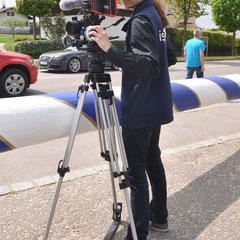 auch die Isar-TV war an diesem Großereignis interessiert...