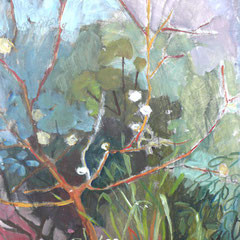 Bibemus - Huile sur toile - 80x60 cm (VEG17)