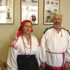 народные мастера России Лобынцевы Владимир Иванович и Татьяна Викторовна
