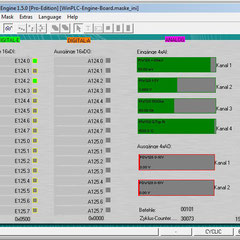 WinPLC-Engine can look like a simulation board