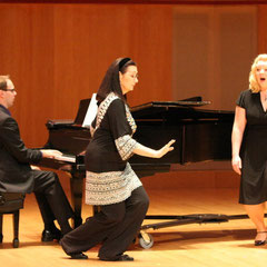 Masterclass with Carol Vaness and soprano Carolyn Cavadini