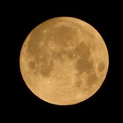 2018:  Full moon on January, 31st