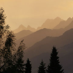 2017:  View from our balcony in Valata/Obersaxen (Switzerland)