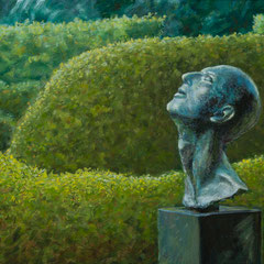 º Uccello, brons van Lotta Blokker, o/a/mar, 40x24cm