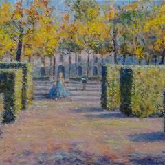 Tuileriën a/p 21,2x12,8