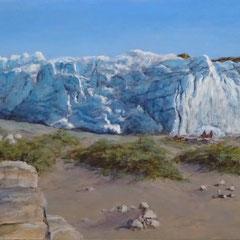 º 'Het einde van de gletsjer' (Groenland), a/p, 170x51,5cm