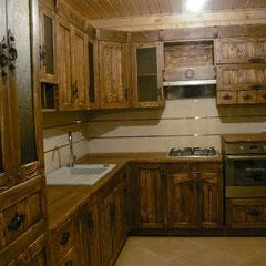 Кухни и кухонные гарнитуры под старину