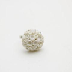"""Кольцо """"Белый коралл"""""""