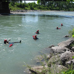 Passives Schwimmen