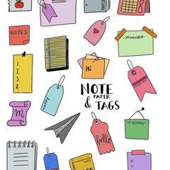 Doodles - Einfach malen und zeichnen Bullet Journal und Sketchnotes Notepapers Papier digital