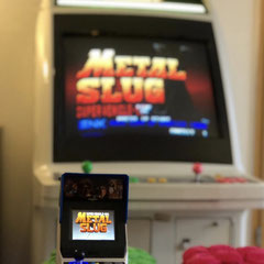 In Folge #77 des Männerquatsch Podcast sprechen wir über Segas Astro City Arcade Automaten. Hier abgebildet zusammen mit einem Neo Geo Mini.