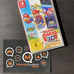 In Folge #82 des Männerquatsch Podcast, sprechen wir über Super Mario 3D All-Stars für die Nintendo Switch