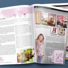 """Inprint – Magazin der Fa. Interprint, in 7 Sprachen, hier zum Thema """"Junges Wohnen"""""""