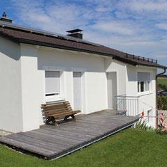 Energetische Sanierung, Erneuerung der Fassade, Heizung, Neugestaltung EG