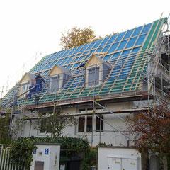 Energetische Sanierung Zweifamilienhauses Kirchseeon