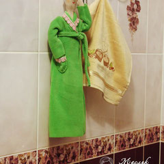 """Кукла тильда """"Хранительница ватных дисков"""" Маслик Ольга"""