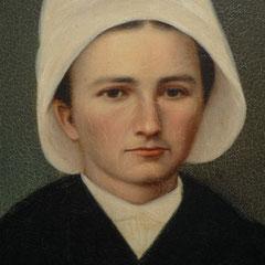 Reine VITEL (peinture, artiste inconnu).