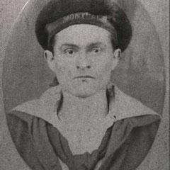 Louis JEAN, marin sur le Montcalm (photo 1866).